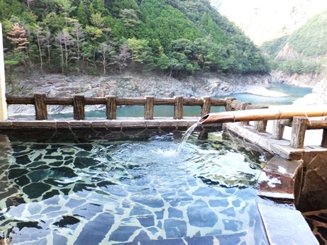 【奈良】十津川温泉郷 湯泉地温泉 やど湯の里