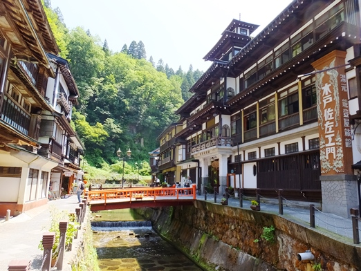 【山形】銀山温泉 能登屋旅館