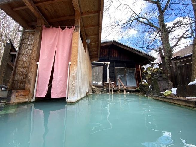 【長野】白骨温泉 かつらの湯 丸永旅館