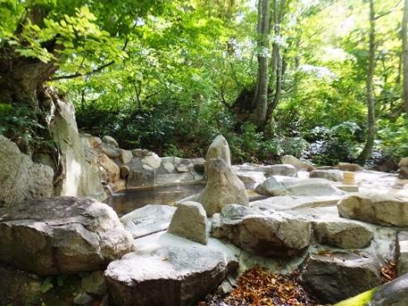 【長野】小谷温泉 奥の湯 雨飾荘