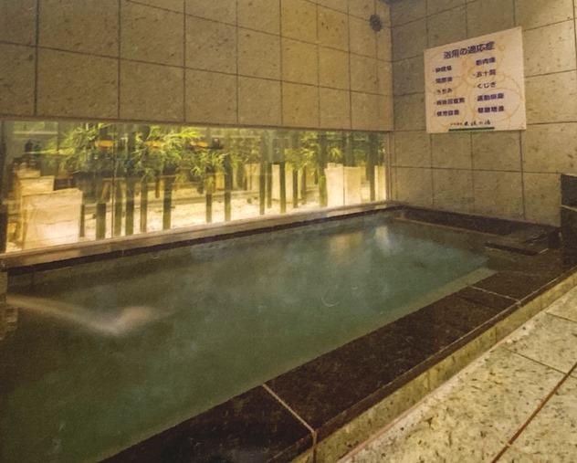 【栃木】スーパーホテル小山 天然温泉「出流の湯」